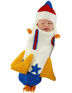 Roger the Rocket Ship 2-pc. Bunting – Baby
