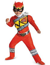Power Rangers 2-pc. Dino Charge Red Ranger Muscle Toddler Costume