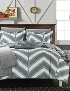 Amaretto Chevron Reversible Comforter Collection