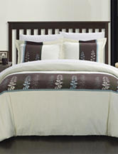 Vidonia Embroidered Florals Duvet Collection
