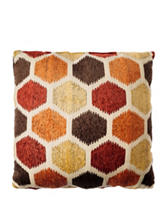 Home Fashions International 20 Inch Block Party Pillow