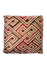 Home Fashions International 20 Inch Red Bracken Pillow