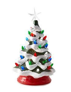 Apothecary White Holiday Decor