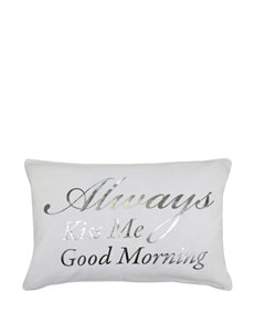 Vintage House Good Morning Decorative Pillow