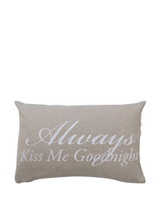 Vintage House Good Night Decorative Pillow