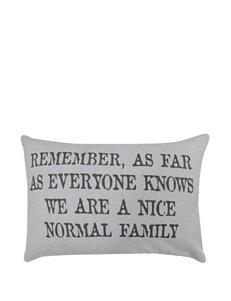 Park B. Smith Grey Decorative Pillows