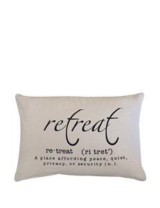 Vintage House Retreat Decorative Pillow