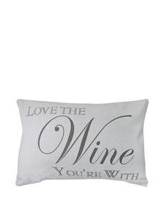 Vintage House Your Wine Decorative Pillow