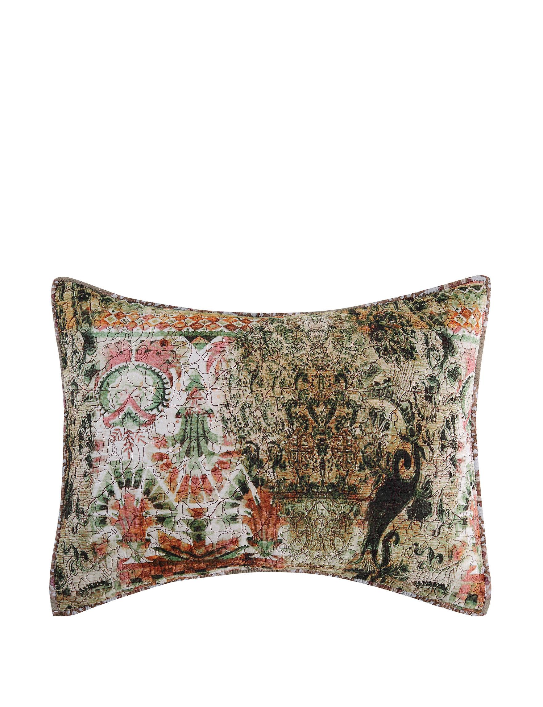 Tracy Porter Green Pillow Shams