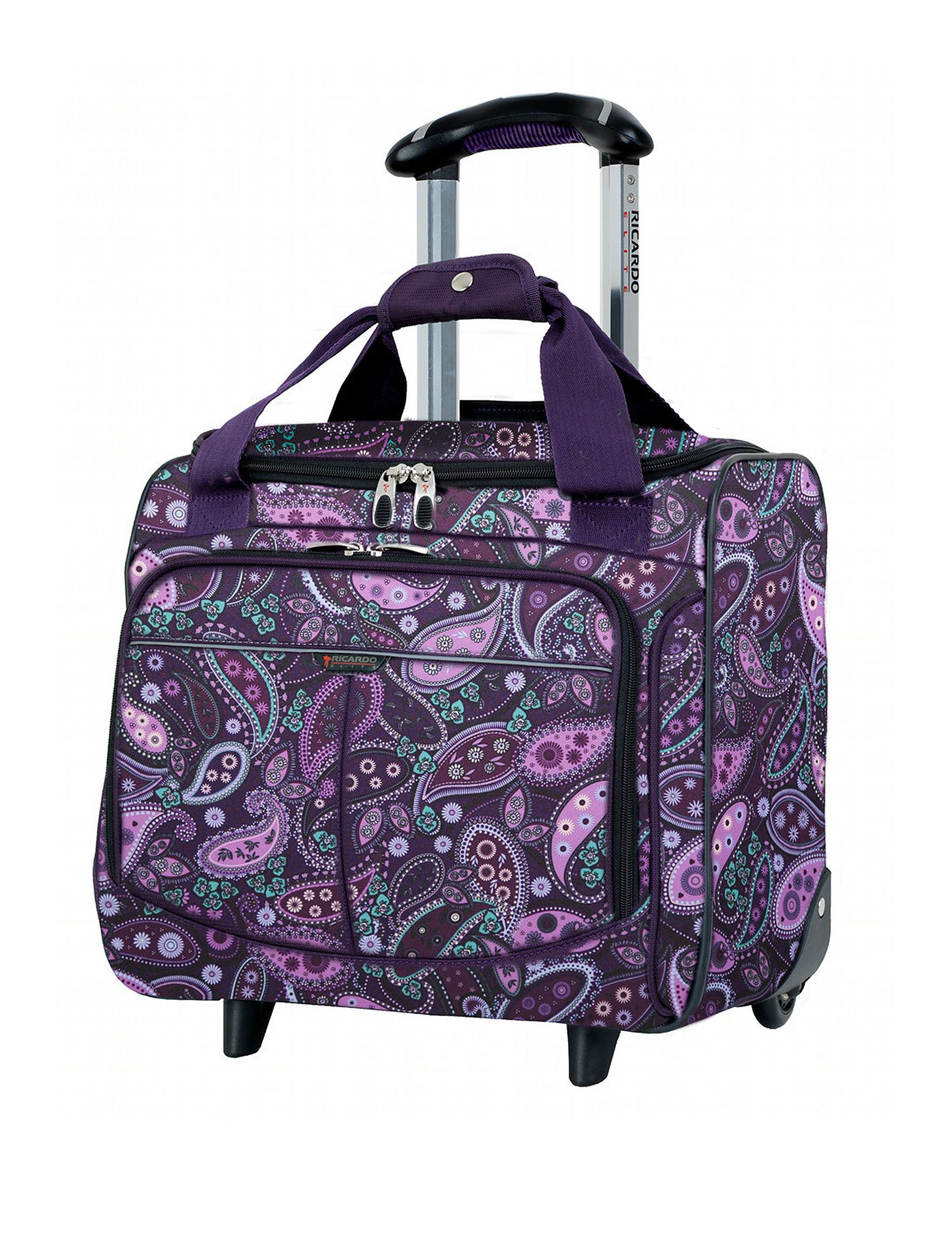 Ricardo Paisley Weekend Bags