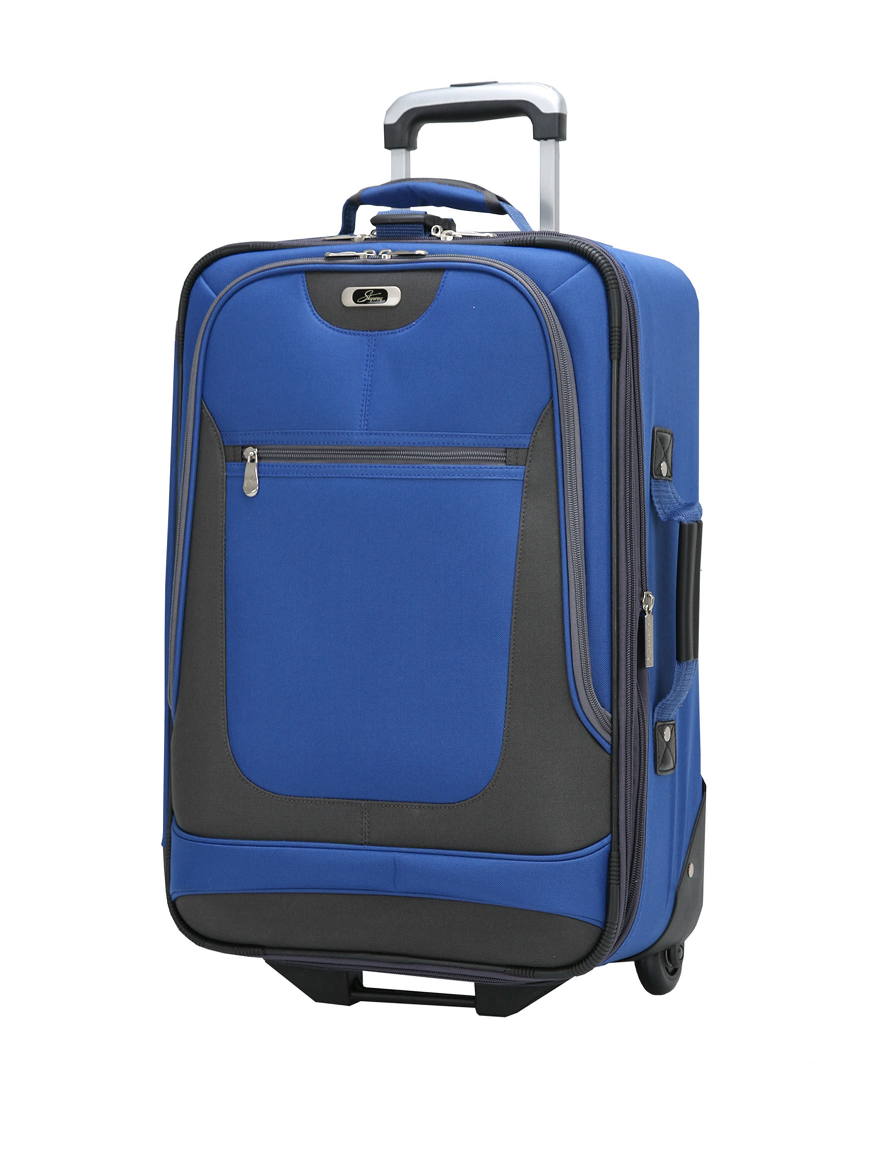 Skyway Blue Upright Spinners