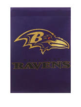 Baltimore Ravens 2-Sided Glitter Embellished Flag