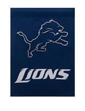 Detroit Lions 2-Sided Glitter Embellished Flag