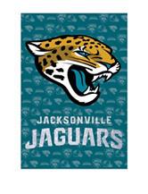 Jacksonville Jaguars 2-Sided Glitter Embellished Flag