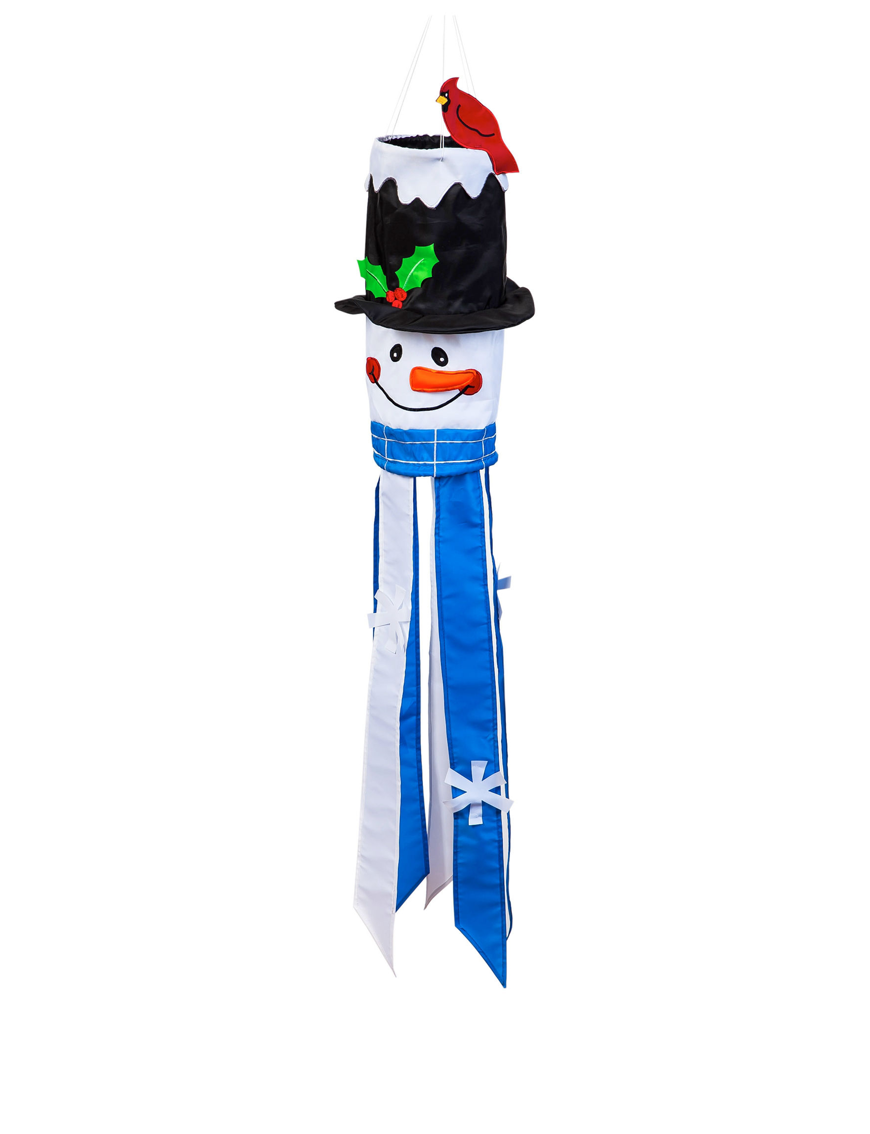 Evergreen Blue Flags & Flag Hardware Outdoor Holiday Decor Holiday Decor