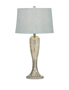 Bassett Mirror Co. Shaped Glass Table Lamps Lighting & Lamps