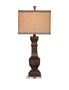 Bassett Mirror Co. Antique Burnished Table Lamps Lighting & Lamps