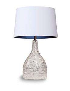 Bassett Mirror Co. Glass Table Lamps Lighting & Lamps