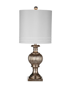 Bassett Mirror Co. Silver Leaf Table Lamps Lighting & Lamps