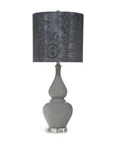 Bassett Mirror Co. Grey Table Lamps Lighting & Lamps