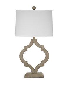 Bassett Mirror Co. Light Grey Table Lamps Lighting & Lamps