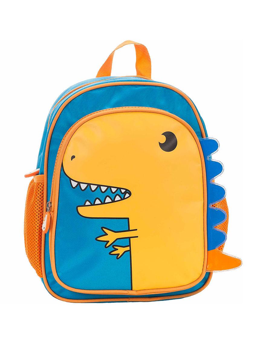 Rockland Blue / Yellow Bookbags & Backpacks