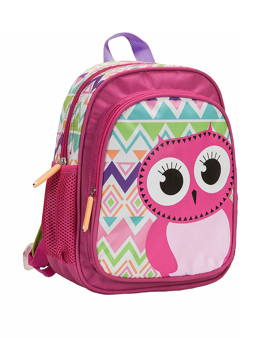 Rockland Pink Bookbags & Backpacks