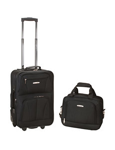 Rockland Black Luggage Sets