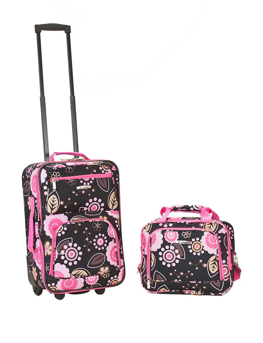 Rockland Black Multi Luggage Sets
