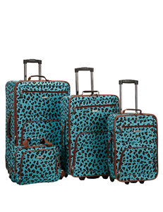 Rockland Blue Luggage Sets