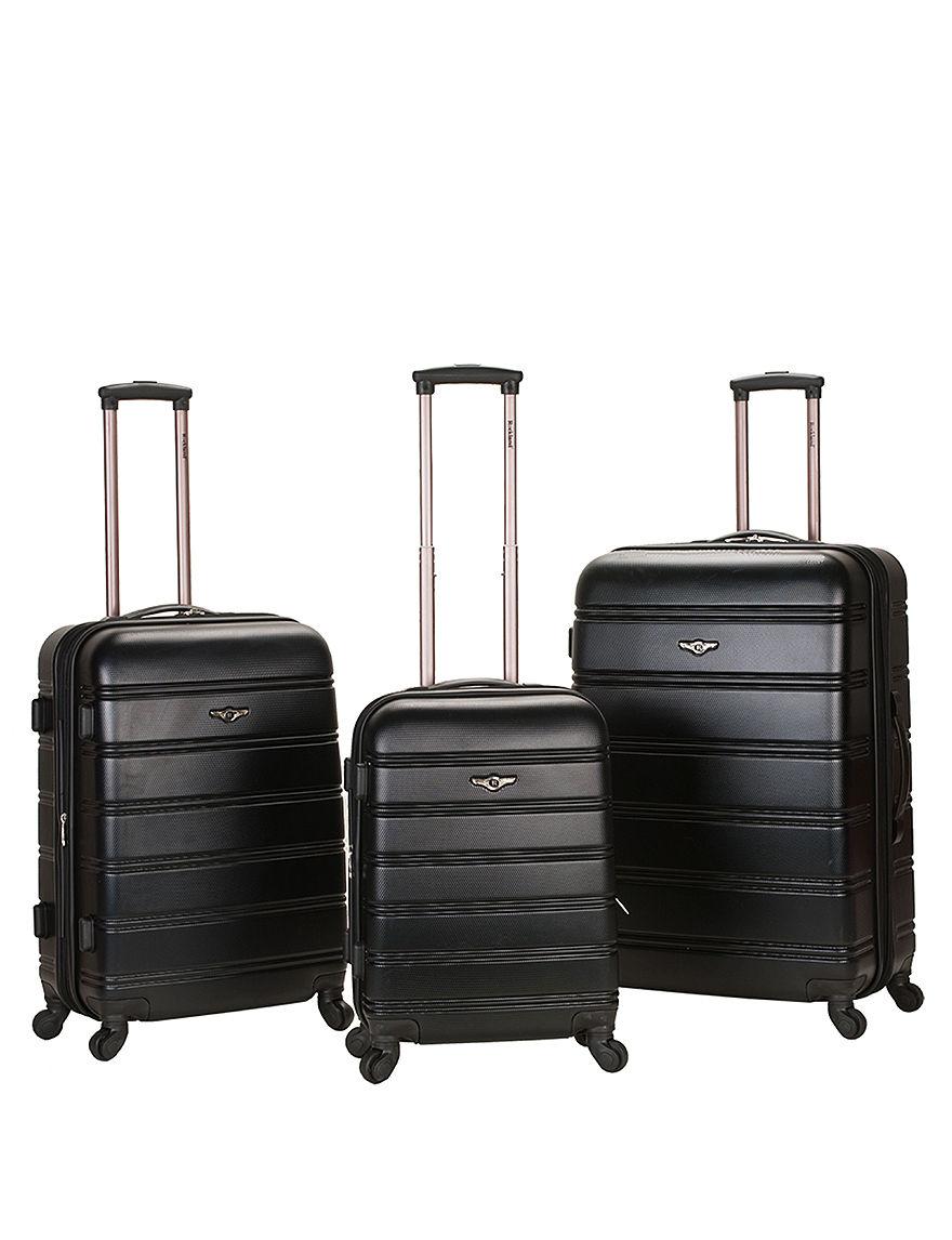 Rockland Black Luggage Sets