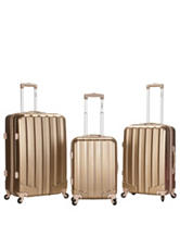 Rockland 3-pc. Bronze Luggage Set