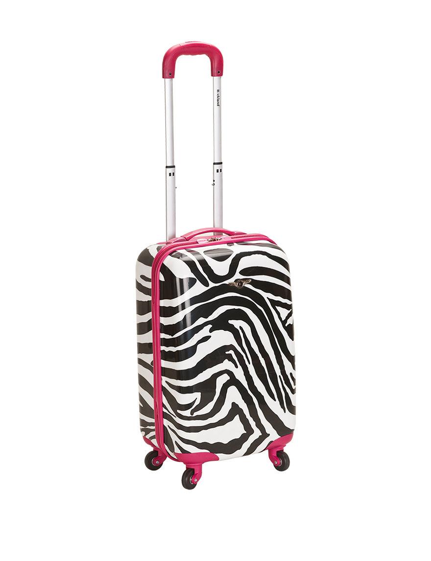 Rockland Pink Zebra Upright Spinners