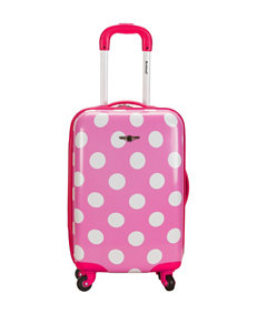 Rockland Pink / White Upright Spinners