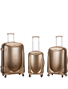 Rockland Champagne Luggage Sets