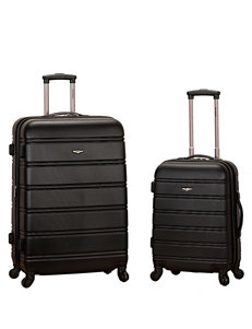 Rockland 2-pc. Solid Color Luggage Set