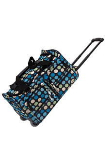 Rockland Blue Multi Duffle Bags