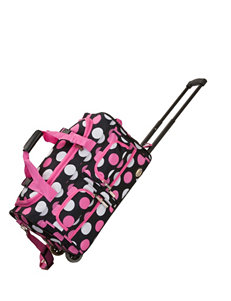 Rockland Pink Multi Duffle Bags