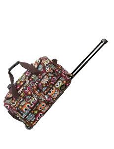 Rockland Brown / Multi Duffle Bags