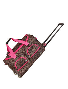 Rockland Leopard Duffle Bags