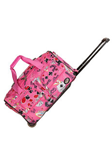 Rockland Pink Duffle Bags