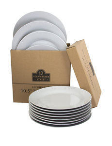 10 Strawberry Street 12-pc. Catering Pack Plate Set
