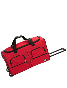 Rockland Red Duffle Bags