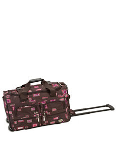 Rockland Chocolate Duffle Bags