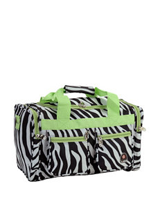 Rockland Lime Travel Totes
