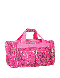 Rockland Pink Travel Totes