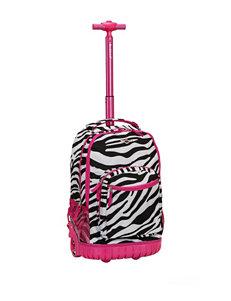Rockland Zebra / Pink Upright Spinners