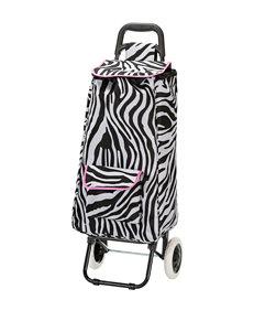 Rockland Zebra / Pink Travel Totes