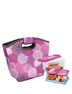 Fit & Fresh Cape Town Orchid Spring Floral Lunch Tote