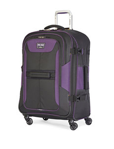 Travelpro Black/ Purple Upright Spinners